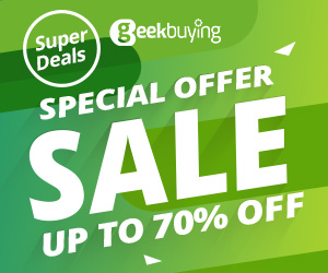 Super Deals Sale up to 70% OFF - GeekBuying
