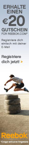 Bei Reebok.com finden Sie ein großes Angebot an Sport- und Basketballschuhen! Geben Sie Ihre E-Mail-Adresse an und Sie erhalten einen 20 EURO-Gutschein geschenkt