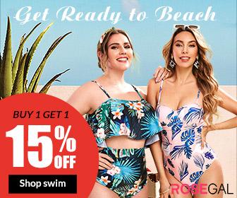 Get Ready to Beach! BOGO 15% OFF, Shop Swimwear