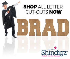 Shop All Letter Cut-Outs Now