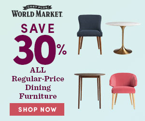 Save 30% Reg Price Dining Furniture and FS on $250+ USE CODE DINING30