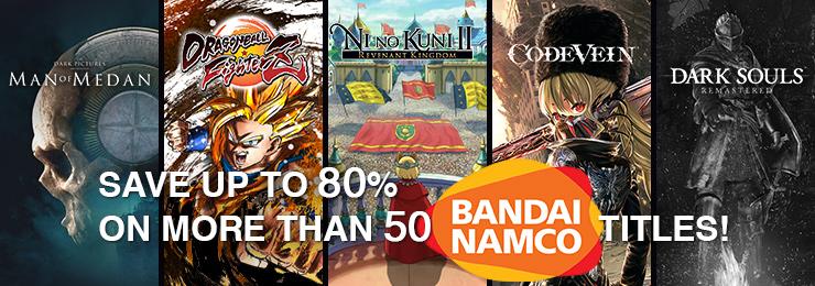 GamersGate - Bandai Namco Titles: Save Upto 80% OFF