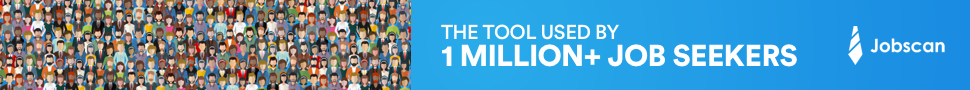 Jobscan has helped over 1 million individual job seekers