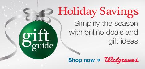 Walgreens Holiday Savings | Gift Guide