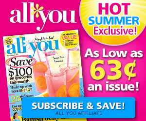Get one year of All You Magazine for Just $5
