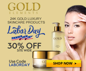 Gold Elements Labor Day 300x250 banner