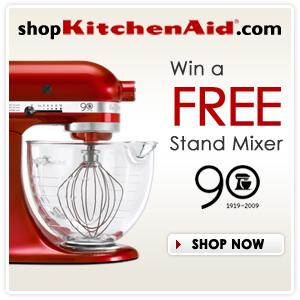 Win a Free KitchenAid Stand Mixer!