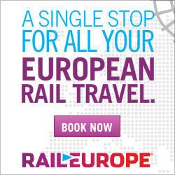 A single stop for all your European Rail Travel.