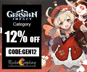 GENSHIN IMPACT category 12% off