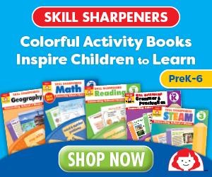 Skill Sharpeners for Grades PreK, K, 1, 2, 3, 4, 5, 6