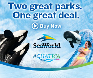 SeaWorld & Aquatica - Two parks.  One great deal.