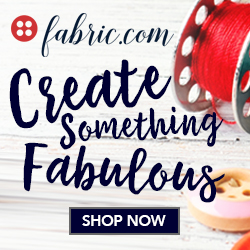 create something fabulous with fabric.com