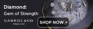 April Birthstone Diamond Fine Jewelry Banner
