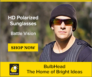 Image for Battle Vision Polarized Sunglasses By Atomic Beam