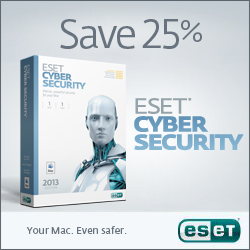 ESET Cyber Security for Mac - Save 25%