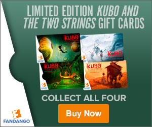 Kubo and the Two Strings Movie Gift Cards