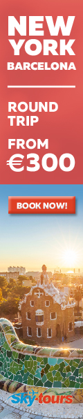 New York to Barcelona with Skytours from 300 EUR