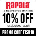 Rapala 10% Off FISH10 125x125