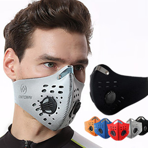 Sports Mask Pollution Protection Mask Half Face Mask with Filter Neoprene Running Hiking Snowboardin