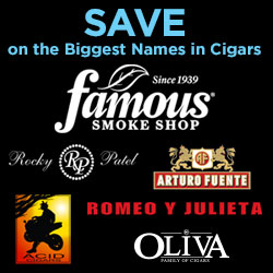 FSS: Cigars on Sale - Save on the Biggest Names 250x250