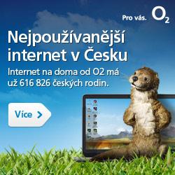 Levný internet na doma od O2 Optimal od Telefónica ČR