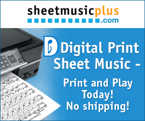 Print & Play Music Today!