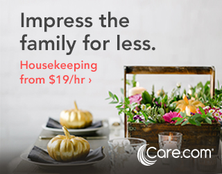 Image for 320x250 Join Care.com This Fall For All Your Housekeeping Needs