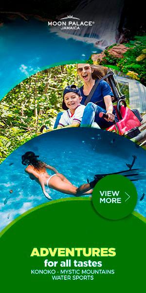 $1,500 Resort Credit en Moon Palace Jamaica.