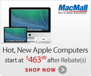 MacMall.com Hot New Apple Computers