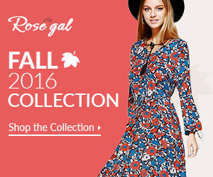 Rosegal Vintage Fall Collection 2016