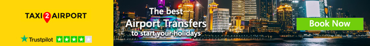 the best airport transfer tostart off your holiday