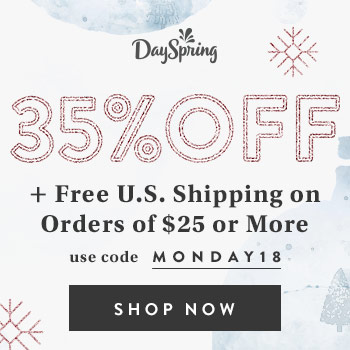 Dayspring Cyber Monday Deal 35% off