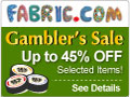 Fabric.com Gambler's Sale - Take A Chance
