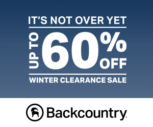 Save up to 60% off Select Styles from Your Favorite Brands at Backcountry.com