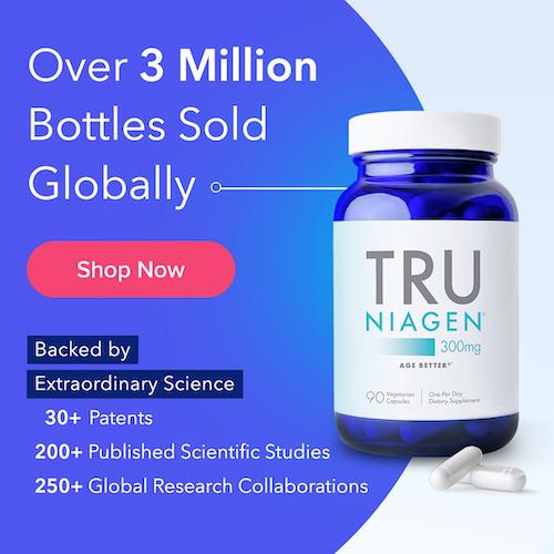 Over 3 Million Bottles of Tru Niagen Sold Globally