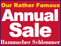 Our Rather Famous Annual Sale