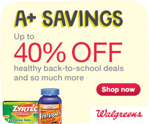 Up to 40% off Back-to-School Deals and So Much More