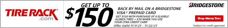 MICHELIN®: Get up to $100 via Reward Card After Submission*