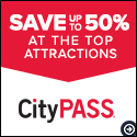 CityPass 50% off attractions
