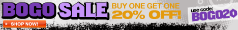 Buy One, Get One 20% off