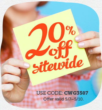 20% off Sitewide at Cardstore!