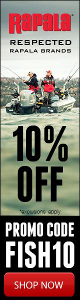 Rapala 10% Off FISH10 160x600