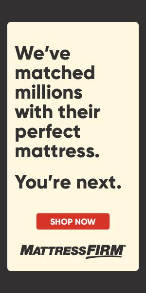 Mattress Firm Curated Banner