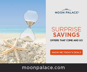 2020 Savings at The Grand at Moon Palace. Early Booking.