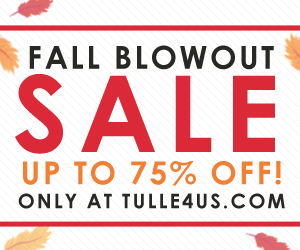 Tulle 5 Day Sale - Save up to 65% Off