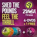 Zumba Exhilarate DVD