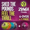 Zumba Exhilarate DVD