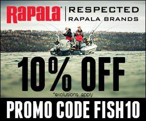 Rapala 10% Off FISH10 300x250