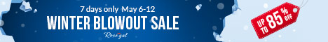 WINTER BLOWOUT SALE: UP TO 85% OFF + FREE SHIPPING