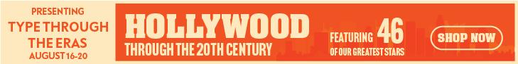 Type Through The Eras - Hollywood through the 20th century